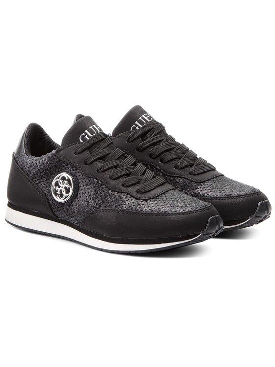 Guess Guess Sneakersy Sunny FLSNN1 FAP12 Čierna