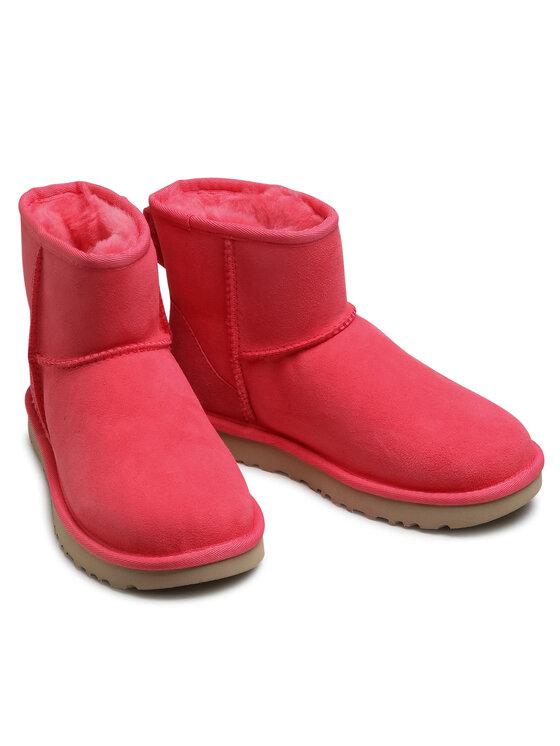 Ugg Ugg Pantofi W Classic Mini II 1016222 Roz