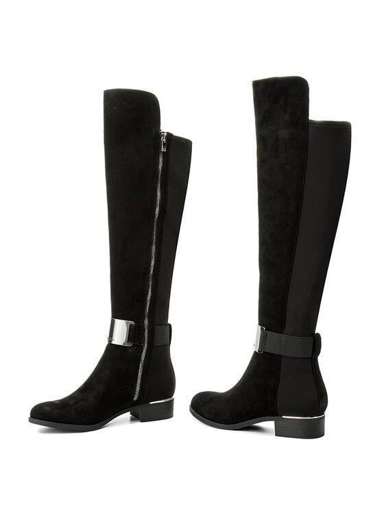 Calvin Klein Calvin Klein Μπότες πάνω από το γόνατο Gennie Kid E3136 Μαύρο
