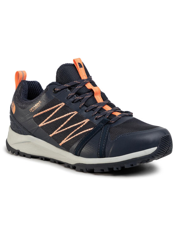 The North Face The North Face Trekkingi Litewave Fastpack II Wp NF0A4PF4MZ61 Granatowy