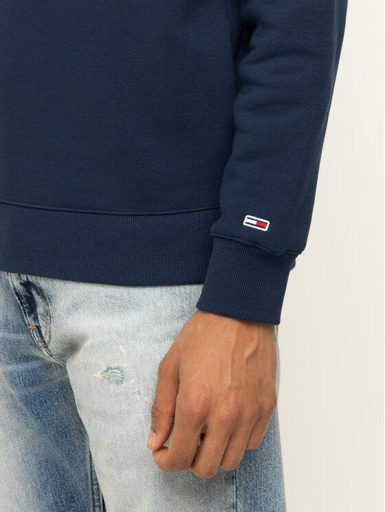 Tommy Jeans Tommy Jeans Μπλούζα Tjm Novel Logo Crew DM0DM07614 Σκούρο μπλε Regular Fit