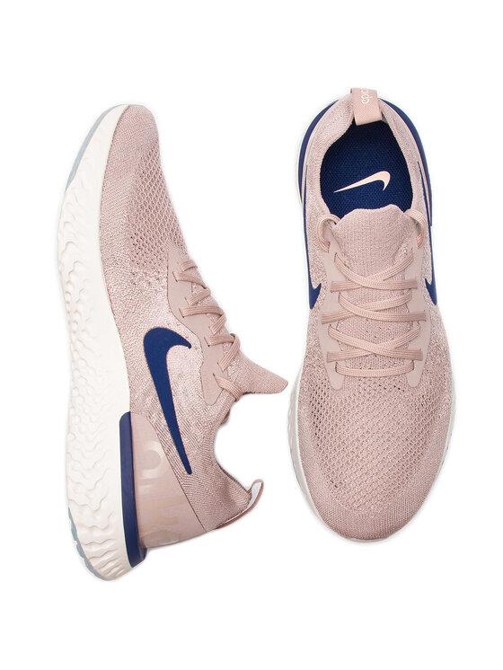 NIKE NIKE Обувки Epic React Flyknit AQ0067 201 Розов