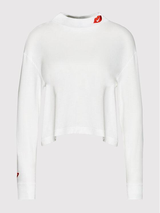 Nike Nike Bluzka Sportswear DB9735 Biały Loose Fit