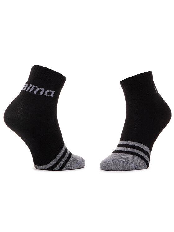 Reima Reima Sada 2 párů vysokých ponožek unisex MyDay 527347 Černá