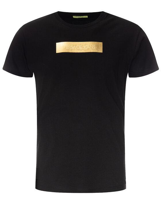 Versace Jeans Versace Jeans T-Shirt B3GTB7R2 Schwarz Regular Fit