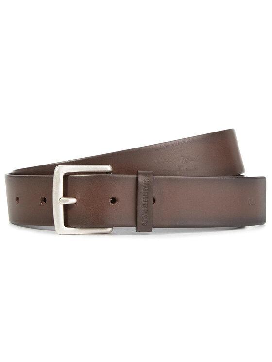 Calvin Klein Jeans Calvin Klein Jeans Pánský pásek J 3,5 Cm Classic Belt K50K504901 Hnědá