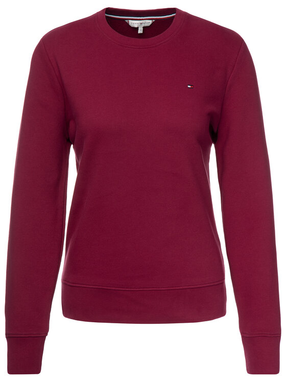 Tommy Hilfiger Tommy Hilfiger Sweatshirt WW0WW24850 Dunkelrot Regular Fit
