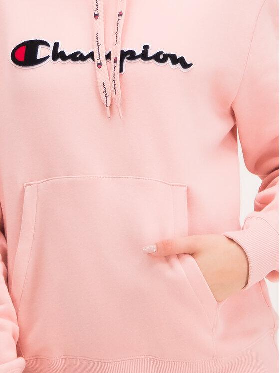 Champion Champion Bluza 111965 Różowy Custom Fit