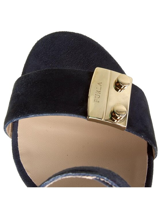 Furla Furla Sandales Metropolis 853828 S Y917 U10 Bleu marine