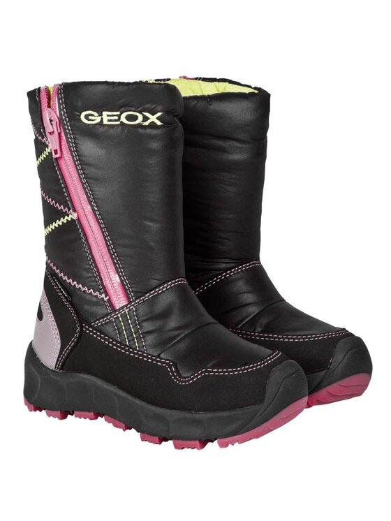 Geox Geox Cizme J Neve G.Wp A J24G9A 0FU54 C0922 Negru