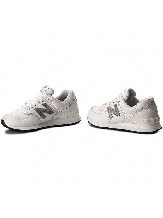 New Balance New Balance Sneakersy ML574LPW Biały