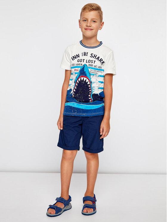 Primigi Primigi T-shirt Jersey 43222071 Blanc Regular Fit