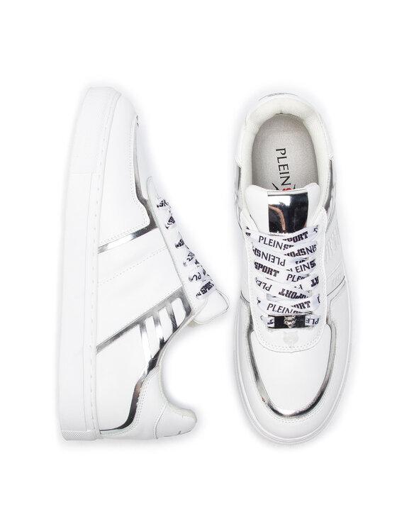 Plein Sport Plein Sport Sneakers Lo-Top Sneakers Tiger S19S MSC1869 STE003N Weiß