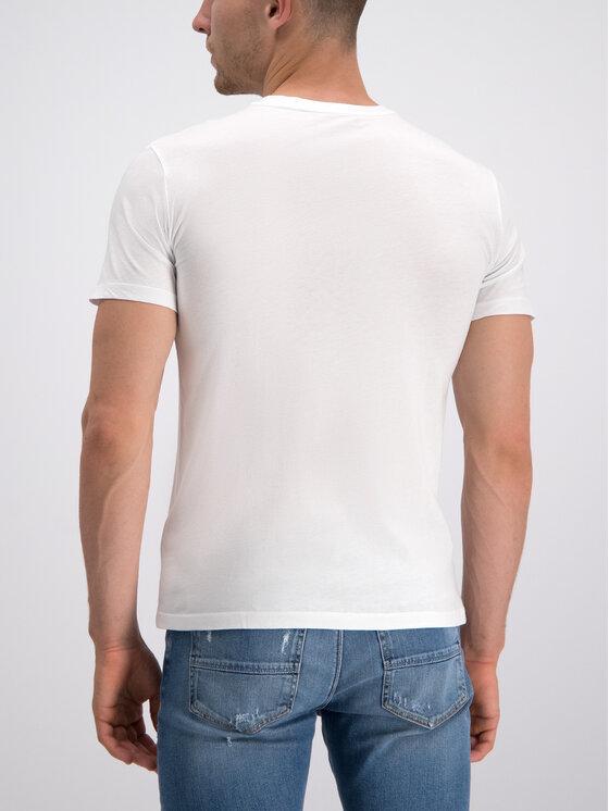 Trussardi Trussardi T-Shirt 52T00240 Biały Regular Fit