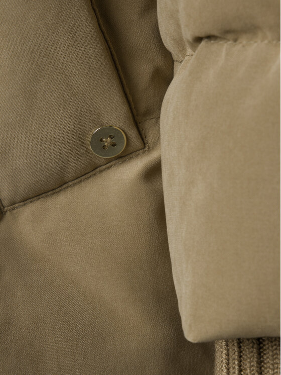 Pennyblack Pennyblack Kurtka puchowa Ajaccio 24845019 Brązowy Regular Fit