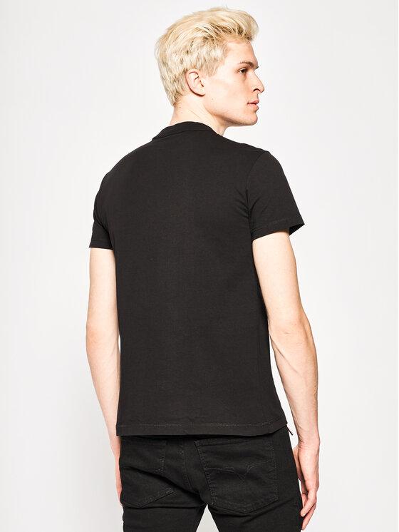 Versace Jeans Couture Versace Jeans Couture T-Shirt B3GVA7TC Schwarz Regular Fit