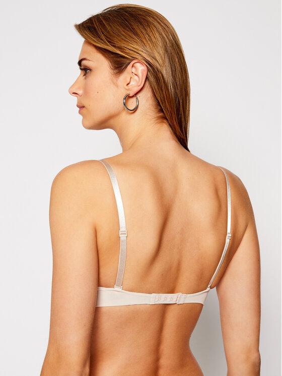 Calvin Klein Underwear Calvin Klein Underwear Biustonosz push-up 000QF9015E Beżowy