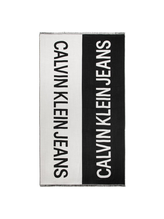 Calvin Klein Jeans Calvin Klein Jeans Sál J 100x200Cm Supporter Scarf K60K605827 Fekete