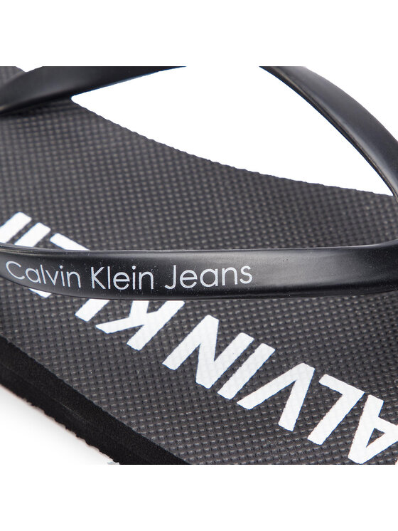 Calvin Klein Jeans Calvin Klein Jeans Šlepetės per pirštą Dori R7783 Juoda