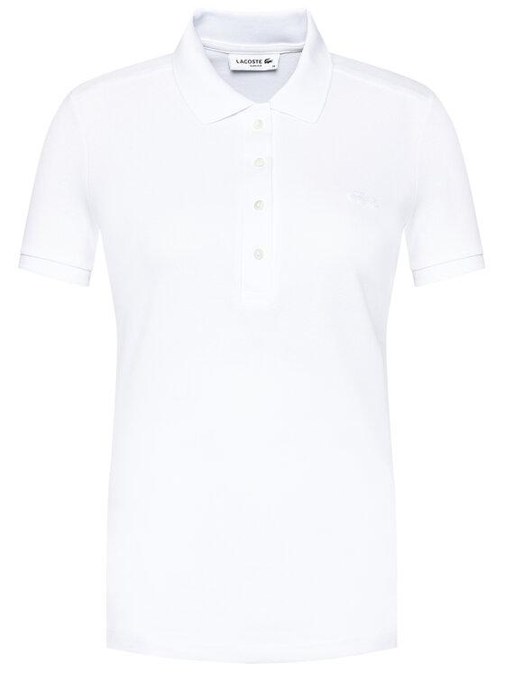 Lacoste Lacoste Polo PF5462 Biały Slim Fit
