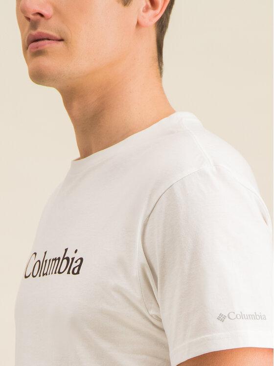 Columbia Columbia Tricou Csc Basic Logo 1680053 Alb Regular Fit