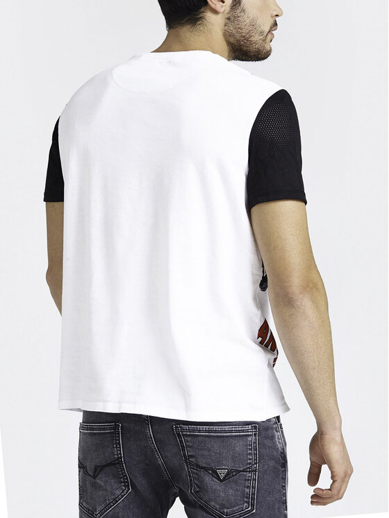 Guess Guess T-Shirt M93I44 I3Z00 Biały Regular Fit