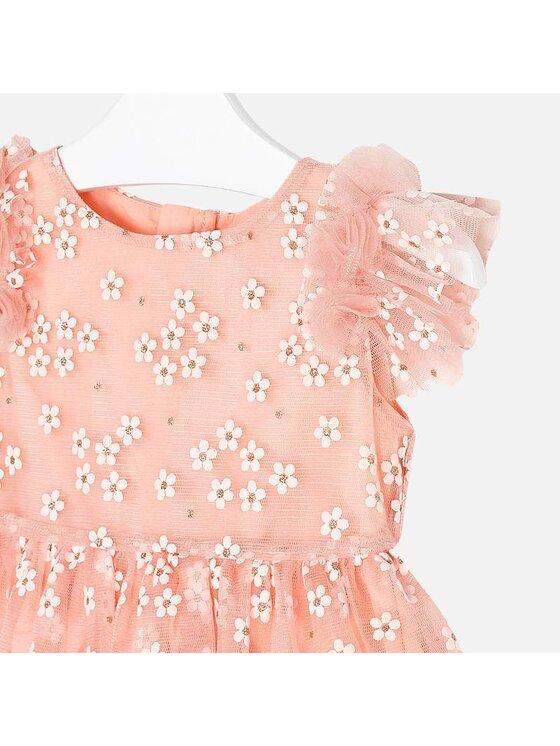 Mayoral Mayoral Elegantiška suknelė 3916 Rožinė Regular Fit