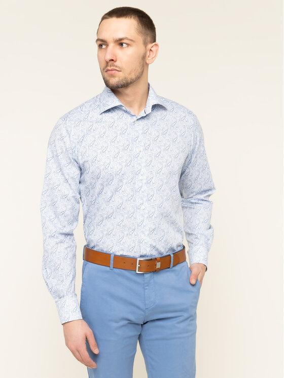 Eton Marškiniai 100000520 Mėlyna Regular Fit