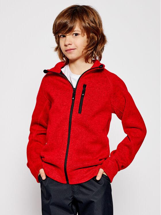 Reima Fliso džemperis Micoua 536467 Raudona Regular Fit