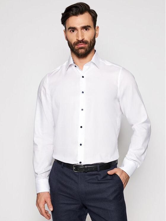 Roy Robson Marškiniai 1237-80 Balta Slim Fit