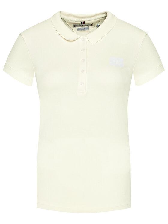Tommy Hilfiger Tommy Hilfiger Polo Abo Short Sleeve WW0WW32606 Żółty Slim Fit