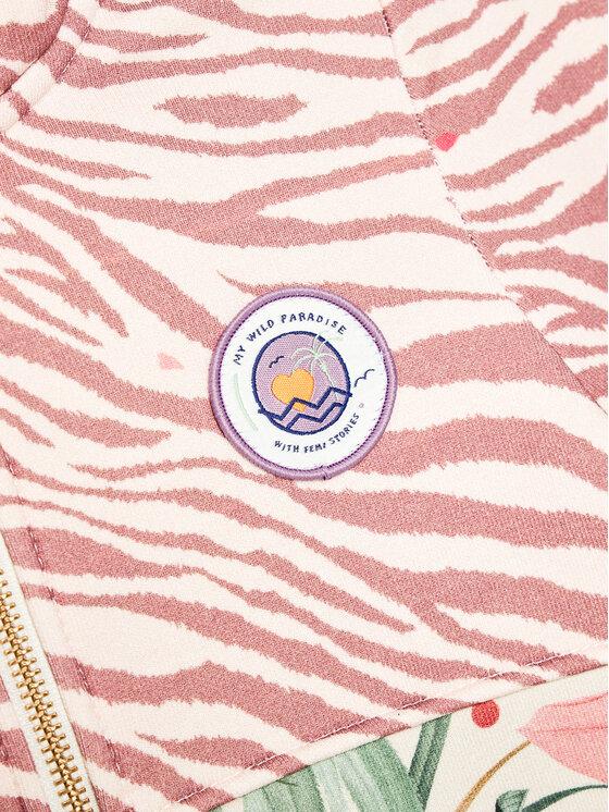 Femi Stories Femi Stories Bluza Zippa Kolorowy Regular Fit