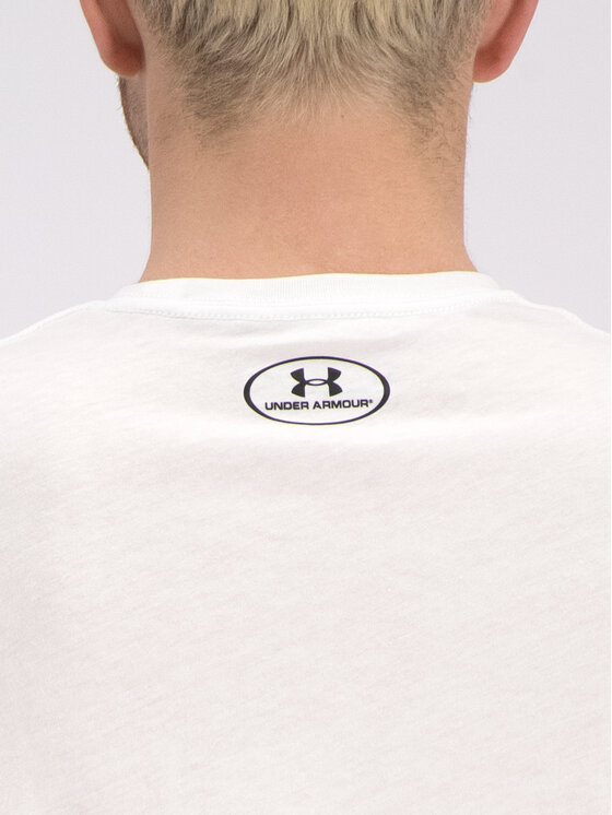 Under Armour Under Armour T-Shirt 1326799 Biały Loose Fit