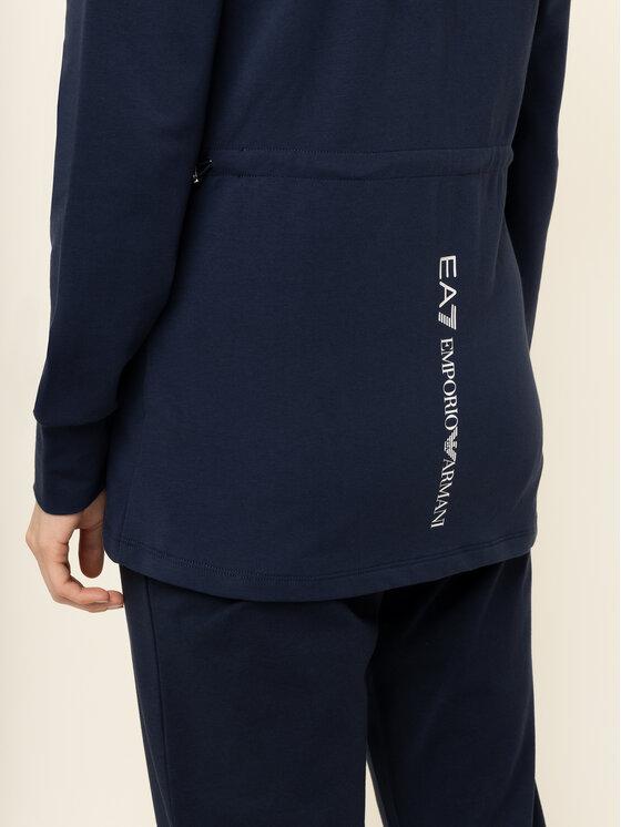 EA7 Emporio Armani EA7 Emporio Armani Sweatshirt 3HTM23 TJ31Z 1554 Dunkelblau Slim Fit