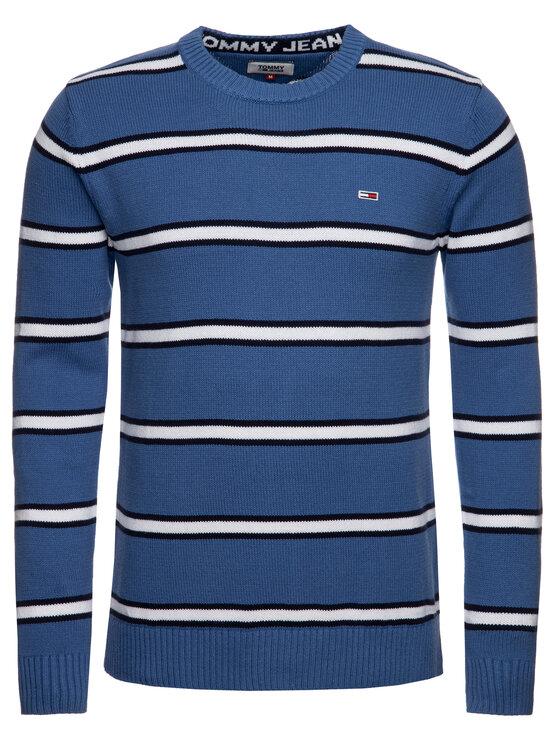 Tommy Jeans Tommy Jeans Pulover Tjm Fine DM0DM07001 Albastru Regular Fit