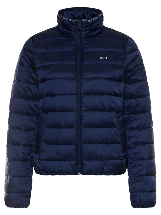 Tommy Jeans Tommy Jeans Pūkinė striukė Quilted DW0DW08030 Tamsiai mėlyna Regular Fit