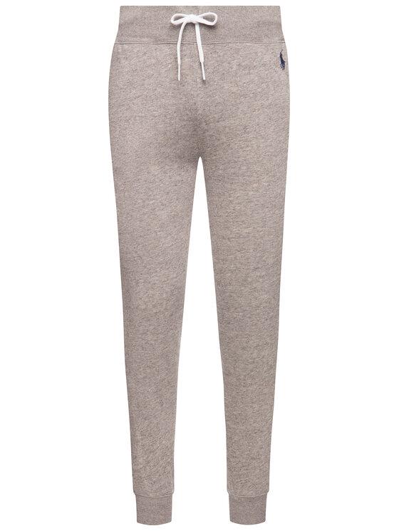 Polo Ralph Lauren Polo Ralph Lauren Παντελόνι φόρμας 211794397 Γκρι Regular Fit