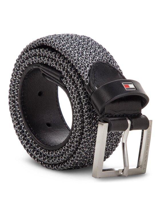 Tommy Hilfiger Tommy Hilfiger Ceinture homme Elastic Belt 3.5 AM0AM04268 Gris