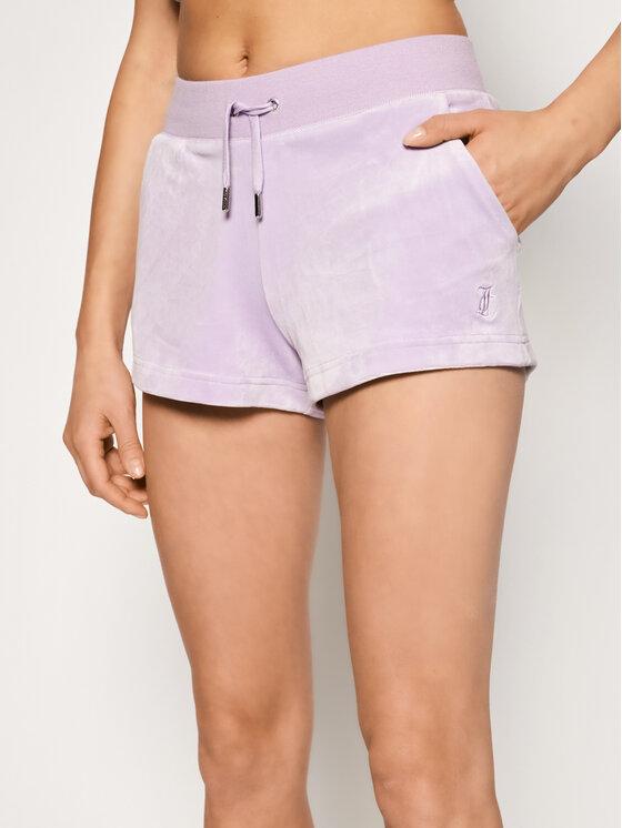 Juicy Couture Sportiniai šortai Eve JCCH121001 Violetinė Slim Fit