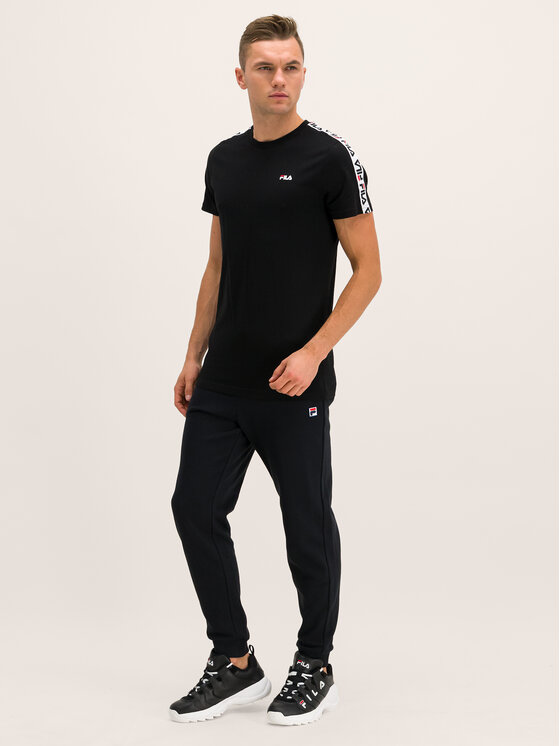 Fila Fila T-shirt Vainamo 687217 Nero Regular Fit