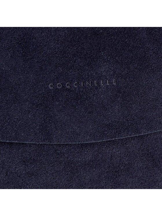 Coccinelle Coccinelle Borsa AC6 Delphine Suede E1 AC6 12 01 01 Blu scuro