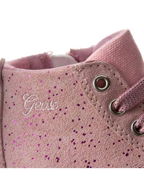 Geox Geox Kotníková obuv B Kiwi G. H B72D5H 0QM22 C8010 Růžová