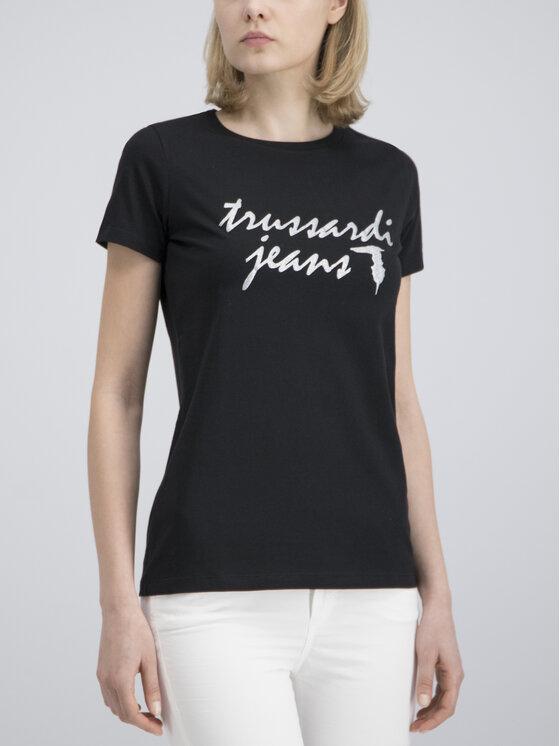 Trussardi Trussardi Jeansy Garment 56J00003 Biały Regular Fit