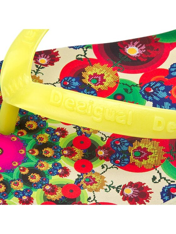Desigual Desigual Infradito Flores 52HS5B5/4083 Multicolore