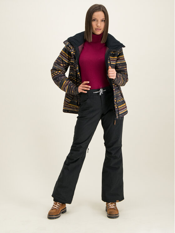 Roxy Roxy Ски панталони Nadia ERJTP03087 Черен Tailored Fit