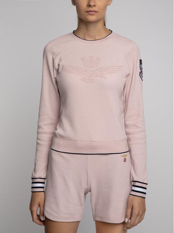 Aeronautica Militare Aeronautica Militare Sweatshirt 191FE1358DF319 Rosa Regular Fit
