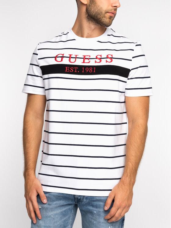Guess Guess T-shirt M93I63 K8RC0 Bianco Regular Fit