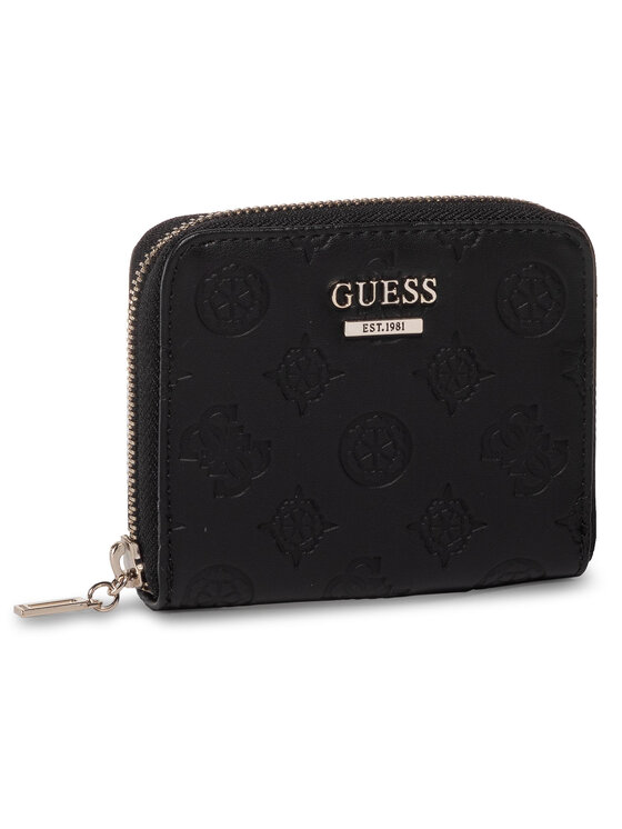 Guess Guess Kis női pénztárca Logo Love (SG) Slg SWSG76 62370 Fekete