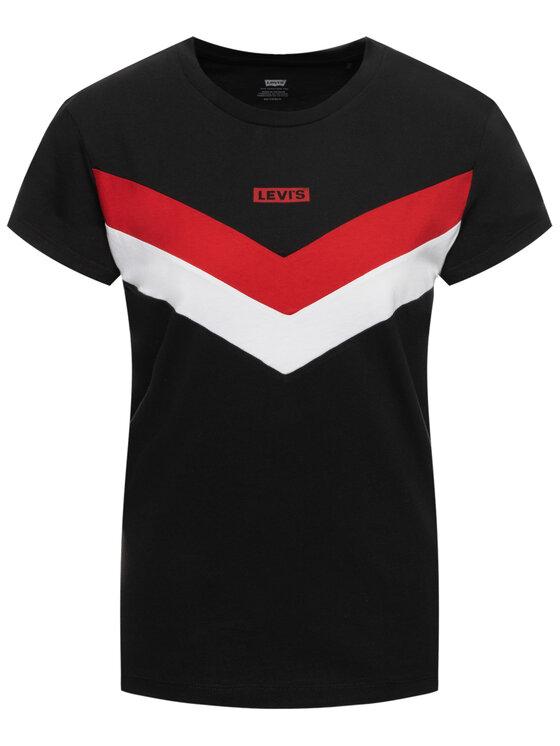 Levi's® Levi's® T-Shirt Florence Tee 80815-0000 Czarny Regular Fit
