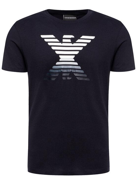 Emporio Armani Emporio Armani T-Shirt 6G1TC3 1J00Z 0933 Tmavomodrá Regular Fit